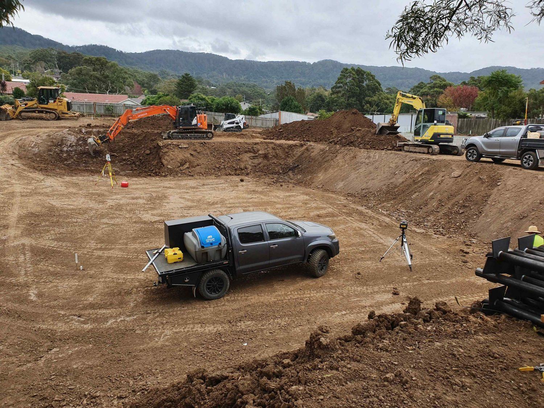 site cutting